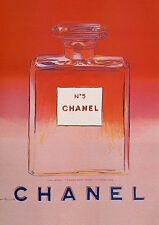 Poster & Canvas available! Chanel No5 No 5 Ad Andy Warhol Print Poster Canvas