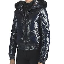 New $700 Rossignol Women's Liz Down Shiny Ski Jacket - Genuine Fox Fur, 90% Down