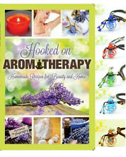 COMBO DEAL Hooked on Aromatherapy RECIPE BOOK & Aromatherapy Bottle Necklace