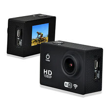 DV4000 12MP HD 1080P Wifi Sports DV Action Waterproof Camera with Battery color