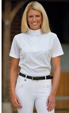 NEW WITH TAG SHIRES COMPETITION SHOW SHIRT WHITE  ALL SIZES (RATCATCHER)