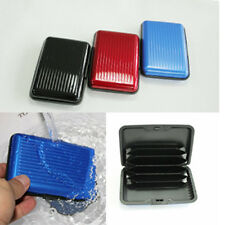 New Pocket ID Credit Cards Wallet Holder Case Box Aluminum Metal Waterproof
