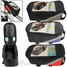 Bike Bicycle Cycle Frame Front Tube Pannier Mobile Phone Bag Pouch Case Holder