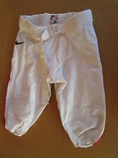 University of Arizona UA Wildcats Football Game worn pants NIKE WHITE / red blue