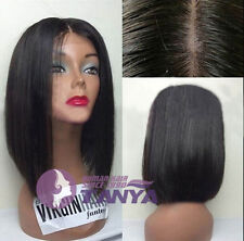 """12"""" 14""""Bob short wig 100% Brazilian Remy Human Hair full lace wig/lace front wig"""