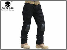 "EMERSON Military Tactical Series G2 Combat Pants With Knee Pads (Black)30""-38"""