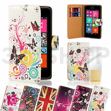 Design book wallet for Nokia Lumia phones including free screen protector