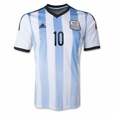 BRAND NEW WITH TAGS ARGENTINA MESSI  #10 FOOTBALL SHIRT 2014
