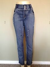 New Hot Fashionable Women Stretch Jeans - Distressed
