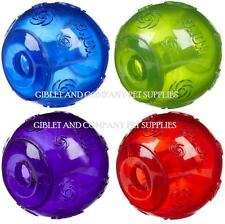 KONG SQUEEZZ BALL LARGE - Durable Squeaks Non-Toxic Squeaker Puppy Dog Toy