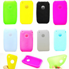 Lovely Soft Rubber Silicone Tpu Gel Phone Case Cover For Apple Iphone 3 3G 3GS