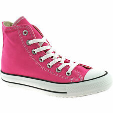 LADIES CONVERSE ALL STAR HI CANVAS BOOTS SIZE UK 4 - 8 CARMINE ROSE 136562C
