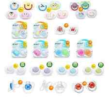 Philips Avent Pacifiers Translucent,Fashion,Royal,Free Flow,Contemporary, Animal