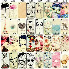Hot Cute Colorful Pattern Hard Back Skin Soft Case Cover For Apple Iphone 5/5S