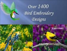 1400+ Bird Embroidery Machine Pattern Design PES Format Brother Baby Lock Janome