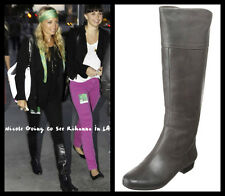 NIB HOUSE OF HARLOW by Nicole Richie 5.5 6 36 Jean  leather knee high boots