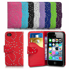 Diamond Bling Gliter Flip Wallet Case Cover For Samsung Galaxy S3 I9300 Phone