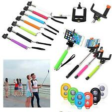 Handheld Bluetooth Selfie Stick Monopod Extendable For iPhone Samsung HTC LG #SH