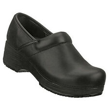 76501 Black Skechers New Women's Work: Tone-ups CLOGS Slip Resistant Leather