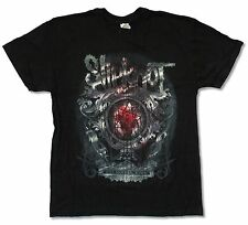 """SLIPKNOT """"BLOODY MIRROR"""" BLACK T-SHIRT NEW OFFICIAL ADULT"""
