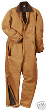 dickies mens insulated heavyweight winter work coveralls Short Tall 3 colors new