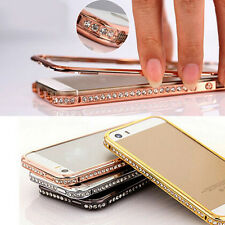 Best Luxury Crystal Rhinestone Diamond Bling Metal Case Cover Bumper For iPhone