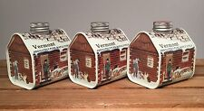 Pure Vermont Maple Syrup Sampler (3 Half Pints) Log Cabin Tins