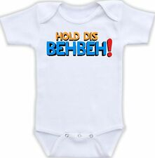 Hold Dis BehBeh Cute Baby Onesie Clothing Funny Onsie Shower Gift Cool Unique