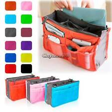 Travel Bag Organizer Insert Handbag Large Organiser Purse liner Tidy Pouch CaF8
