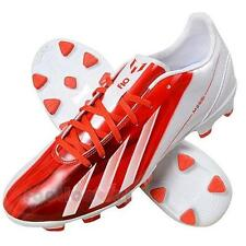 Shoes Adidas Soccer MESSI F10 TRX HG G65364 Man Traxion White red football