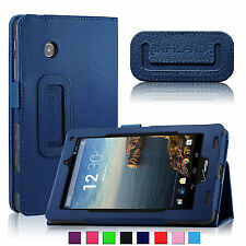 Verizon Ellipsis 7 4G LTE 7 inch Tablet Folio PU Leather Stand Case Cover