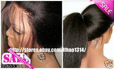 Kinky Straight Wig For Black Women Human Hair Lace Front Wig /Full Lace Wigs Hot