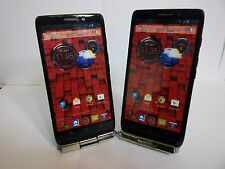 MOTOROLA DROID ULTRA VERIZON 4G LTE NON WORKING DISPLAY DUMMY PHONE 2 COLORS
