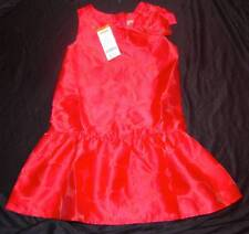 GIRLS SIZES 5, 6, 7. 8 RED GYMBOREE PLAY BY HEART DRESSY DRESS HEW NWT