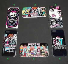 Monster High Hard Cases for iPhone 5, 5s - US Seller - Fast Shipping