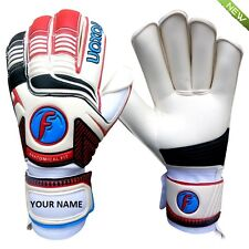 Foxon Goalkeeper Goalie Football Roll Finger Saver Gloves Size 8  9  10