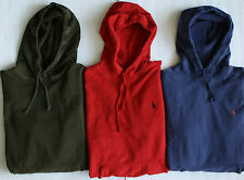 $98 NWT Mens Polo Ralph Lauren Patina French Terry Pullover Hoodie Hoody