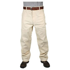 Men's Painters Pants - Natural White - Rugged Blue