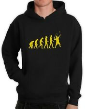 Evolution of Tennis Hoodie Sports Darwin Cool Funny Ape Pullover Hooded Top Tee