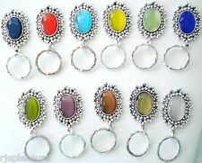 MAGNETIC orTAC PIN Name ID Badge OR EyeGlass Holder. Reading or Sunglasses Oval