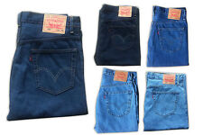 New Levis 505 Jeans Straight Leg Zipper Fly Original Mens Denim 30 32 34 36 - 42