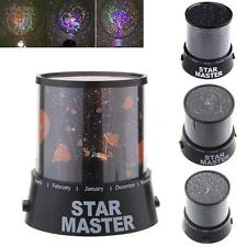 Lovers/Cupid/Moon/Star Romatic Cosmos Projector Lamp LED Starry Night Sky sp