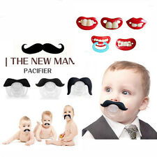 Baby Funny Dummy Prank Pacifier Novelty Teeth Children Child Soother Nipple L66