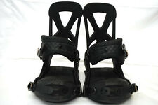 Burton Restricted MISSION Snowboard BINDINGS 3D Black AUTHENTIC Mens NEW 2014
