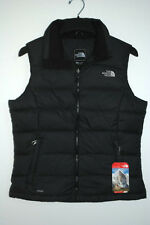 North Face NUPTSE 2 VEST 700-Fill DOWN Black AUTHENTIC Womens XS S M L XL New
