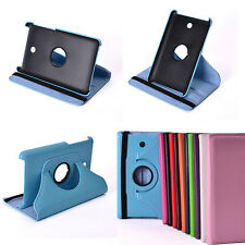 360 Rotating Folding PU Leather Stand Case F MeMO Pad HD 7 Dual ME175KG Tablet