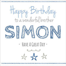 Quality Personalised BIRTHDAY CARD ANY AGE NAME OR RELATION Boys Mens Childrens