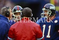 AH354 Bill Parcells Phil Simms Giants Chat in Timeout 8x10 11x14 12x18 Photo