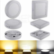 9W/15W/21W Dimmable LED Surface Panel Wall Ceiling Down Light Mount Bulb Lamp UK
