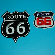 Route 66 Retro Muscle Cars 60s American Usa Highway Biker Punk Sew Iron on Patch